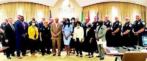 JC NAACP Sponsors Johnson County Law Enforcement Town Hall
