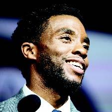 In his role as superhero Black Panther, Chadwick Boseman became the face of the Marvel Cinematic Universe's first film headlined by a Black actor. Cheriss May/NurPhoto via Getty Images