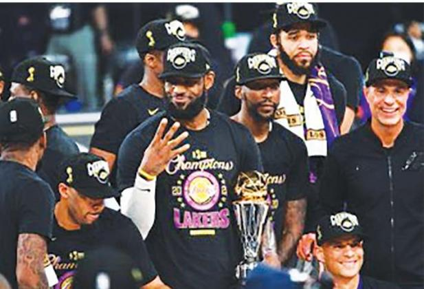 INSIDEJames, Lakers Are NBA CHAMPS!