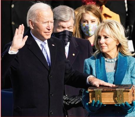 A New America Dawns with President Biden, VP Harris