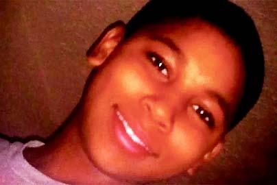 The Justice Department announced Tuesday it would not bring federal criminal charges against two Cleveland police officers in the 2014 killing of 12-year-old Tamir Rice (pictured in a memorial). Jacqueline Larma/AP